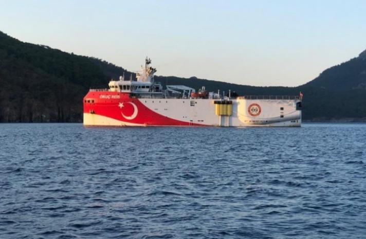 Νέο προπαγανδιστικό βίντεο της Τουρκίας, μέσα από το «Oruc Reis»