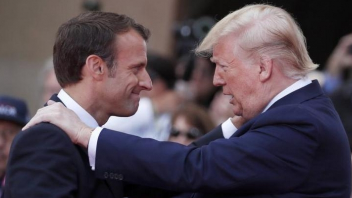 Μακρόν: Ενημέρωσα τον Τραμπ για την Ανατολική Μεσόγειο - Θα επιβάλουμε τα συμφέροντά μας