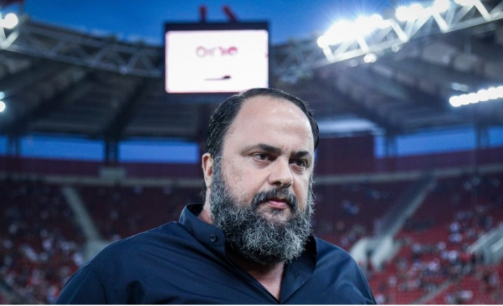 Μαρινάκης προς παίκτες Ολυμπιακού: «Δίνουμε όρκο τιμής, προχωράμε και κερδίζουμε»