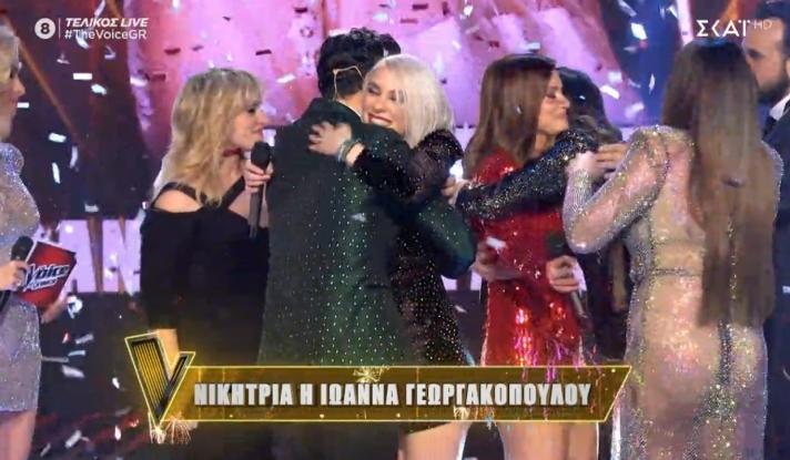 The Voice: Νικήτρια η Ιωάννα Γεωργακοπούλου