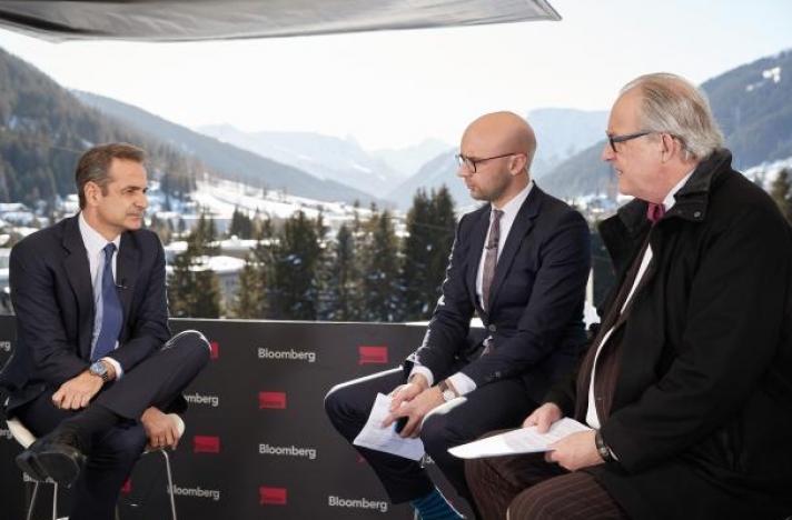 Μητσοτάκης στο Bloomberg: Στόχος η προσέλκυση επενδύσεων 100 δισ. ευρώ - Ιδιαίτερα επιθετική η στάση της Άγκυρας (Photos | Video)