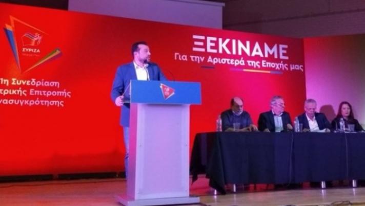 Υπέρ της αλλαγής ονόματος του ΣΥΡΙΖΑ ο Νίκος Παππάς