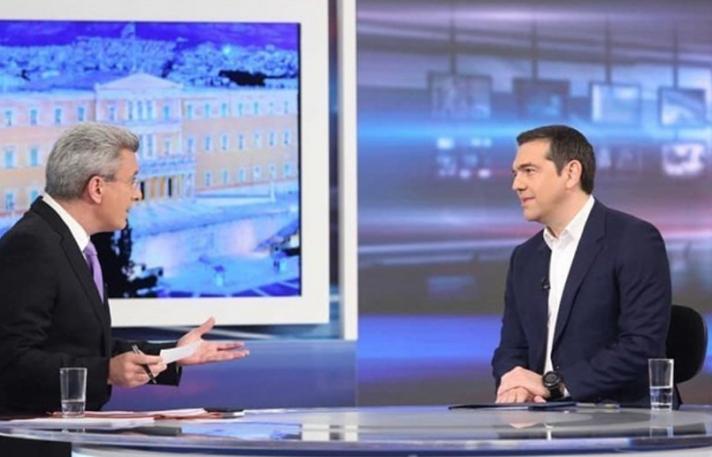 Ο Αλέξης Τσίπρας στο κεντρικό δελτίο ειδήσεων του ΑΝΤ1, απόψε στις 18:45