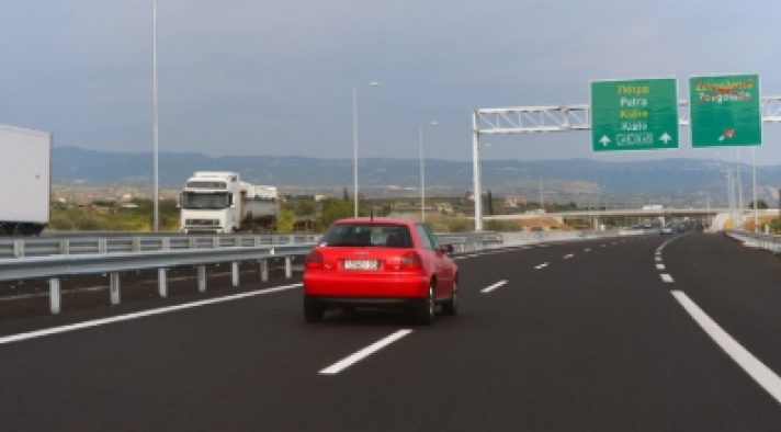 Προσωρινές κυκλοφοριακές ρυθμίσεις στις σήραγγες της Παναγοπούλας του αυτοκινητόδρομου Κορίνθου-Πατρών
