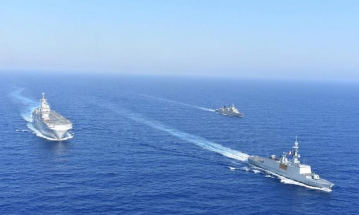 Ναυτική άσκηση Ελλάδας - Γαλλίας στην παράνομη τουρκική NAVTEX (φωτο)