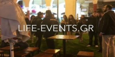 ΒΙΝΤΕΟ - Δείτε τη στιγμή που περαστικοί πιάνουν τσαντάκια στο κέντρο της Θεσσαλονίκης