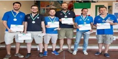 ΜΠΡΙΤΖ - Η Εθνική Ομάδα κέρδισε το ασημένιο μετάλλιο στο Ευρωπαϊκό Πρωτάθλημα.