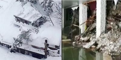 Ιταλία: Το ξενοδοχείο δεν υπάρχει πια - Κανένα ίχνος ζωής μέσα, λένε οι διασώστες