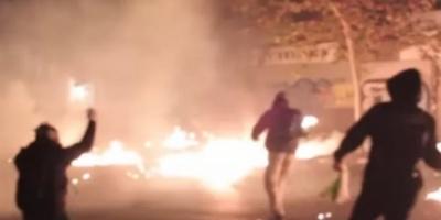 Με 9λεπτο βίντεο «πανηγυρίζουν» οι αντιεξουσιαστές για τα επεισόδια στον Γρηγορόπουλο