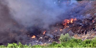 Καλαμάτα: Σε εξέλιξη μεγάλη φωτιά στα Πηγάδια Ταϋγέτου