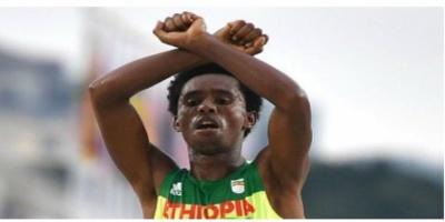 Η χειρονομία που μπορεί να κοστίσει... τη ζωή στον Αιθίοπα Ολυμπιονίκη!