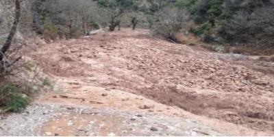 ΗΠΕΙΡΟΣ - Κατακλυσμός στα Ζαγόρια κατά της διάρκεια της νύχτας. Υπερχείλισε ο ποταμός Λούρος
