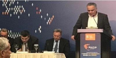 Αλλάζουν όλα στην Αυτοδιοίκηση - Τί είπε ο Π.Σκουρλέτης στο Συνέδριο της ΕΝ.ΠΕ.